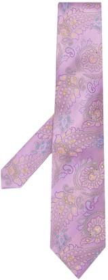 Etro Paisley silk tie