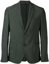 Fendi classic blazer - men - Cupro/Viscose - 46