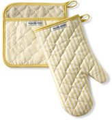 Williams-Sonoma Williams Sonoma Bay Stripe Mitt & Potholder Set, Jojoba