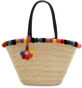 Vince Camuto Raene Basket Woven Straw Tote