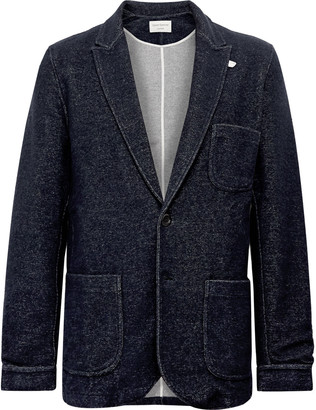 Oliver Spencer Loungewear Birch Melange Knitted Blazer