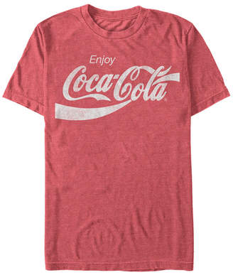 Coca-Cola Men Vintage-Like Enjoy Coca-Cola Short Sleeve T-Shirt