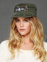 Free People Studded Military Cap