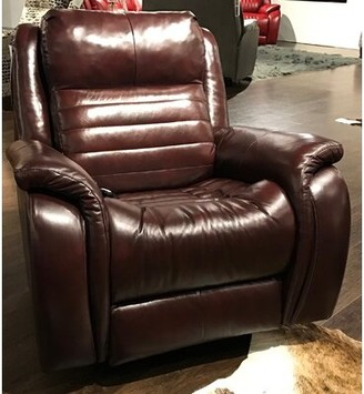 Essex Socozi Genuine Leather Reclining Massage Chair Southern Motion Motion Type: Rocker