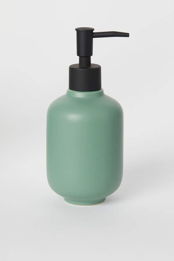 H&M Stoneware Soap Dispenser