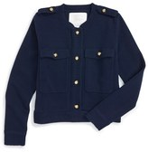 Burberry Girl's Wool & Cashmere Cardigan