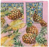 Dolce & Gabbana pineapple print scarf - women - Silk - One Size