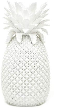 Twos Company Two Company White Pineapple Decorative Vase