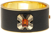 House Of Harlow Art Deco Hinged Bangle Bracelet