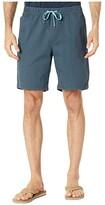 Quiksilver Waterman Cabo Shore Elastic Walkshorts (Midnight Navy) Men's Clothing