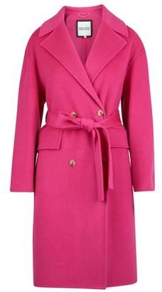 Kenzo Cocoon belted coat