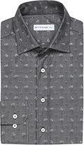 Etro Jacquard Paisley Cotton Shirt
