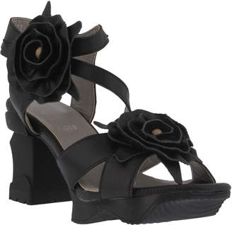 Spring Step L'Artiste by Leather Ankle Strap Sandals - Shelly