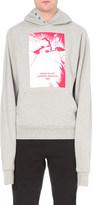 Hood by Air America print jersey hoody