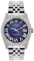 Rolex Datejust Stainless Steel & Diamond 36mm Mens Watch
