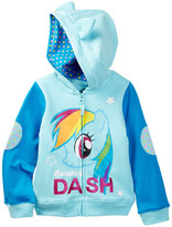 Freeze My Little Pony Rainbow Dash Costume Hoodie (Little Girls)