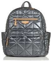 Infant Twelvelittle Quilted Water Resistant Nylon Diaper Backpack - Grey