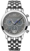 88 Rue du Rhone Mens Double 8 Origin Quartz Chronograph Bracelet Watch