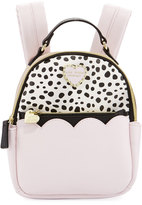 Betsey Johnson Colorblock Zip-Around Mini Backpack