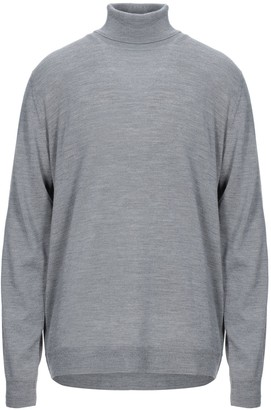 Grey Daniele Alessandrini Turtlenecks