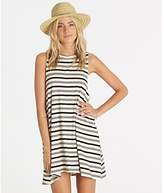 Billabong Junior's by and by Knit Muscle Tee Dress