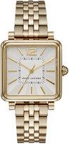 Marc Jacobs Women's Vic Gold-Tone Stainless Steel Bracelet Watch 30mm MJ3462