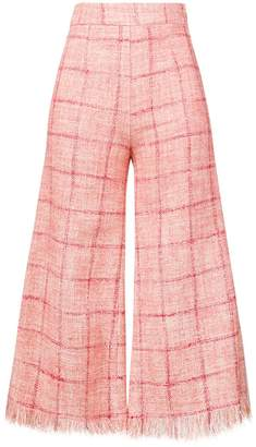 Elisabetta Franchi cropped flared trousers