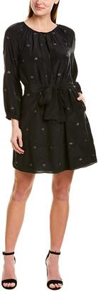 St. Roches Louis Silk Mini Dress