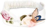 MonnaLisa floral embroidered headband