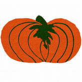 Asstd National Brand Pumpkin Shape Doormat - 18X30