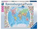 Ravensburger Political World Map 1000pc Puzzle