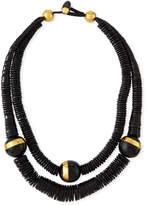Viktoria Hayman Double-Strand Puka Shell Necklace