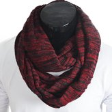 Z&s Chic Men Women Knit Winter Infinity Scarf Oversize E5001b