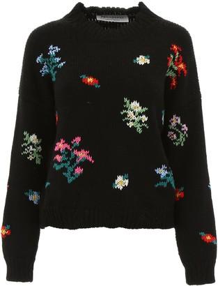 Philosophy di Lorenzo Serafini Floral Knitted Sweater