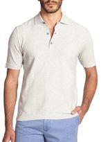 Saks Fifth Avenue Memphis Cotton Pique Polo Shirt
