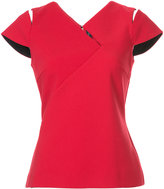 Roland Mouret fitted Padbury top - women - Polyester/Spandex/Elastane/Viscose - 8