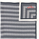 Lanvin 'Graphique' print scarf - women - Silk - One Size