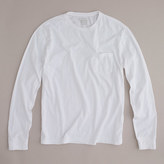 J.Crew Broken-in long-sleeve pocket T-shirt