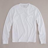 J.Crew Tall broken-in long-sleeve pocket T-shirt