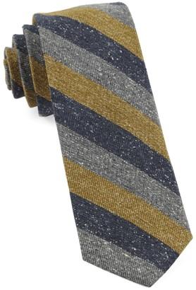 Tie Bar Varios Stripe Mustard Tie