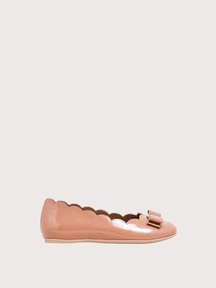 Salvatore Ferragamo Women Mini Varina ballet flat Pink Size 27