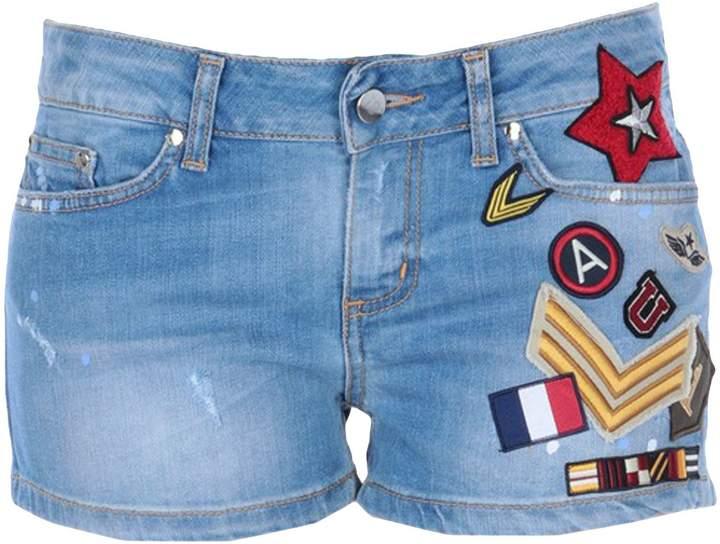 .8! POINT Denim shorts
