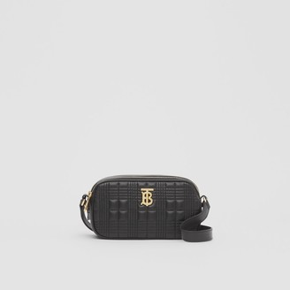 Burberry Mini Quilted Lambskin Camera Bag