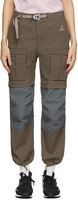 Nike Taupe ACG Smith Summit Cargo Pants