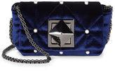 Sonia Rykiel Midnight Velvet & Pearl Le Copain Bag