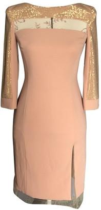 Mangano Pink Tweed Dress for Women