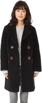 Diane von Furstenberg Grayson Reversible Coat