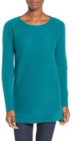 Halogen Women's High/low Wool & Cashmere Tunic Sweater