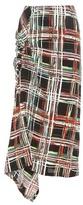 Marni Plaid Skirt