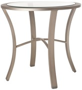 The Well Appointed House Powder Coated Aluminum Outdoor End Table-Available in a Variety of Finishes
